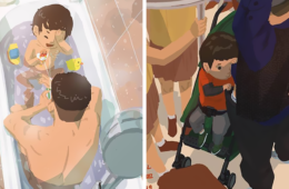 Single Dad Illustrates What It's Like To Raise A Child, And It'll Melt Your Heart (38 Pics)